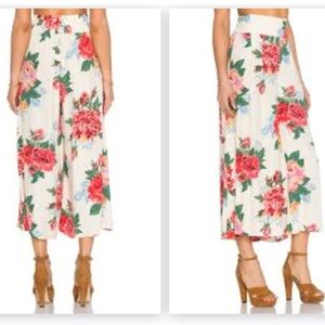 Pants - Otis and MacLaine floral palazzo pant